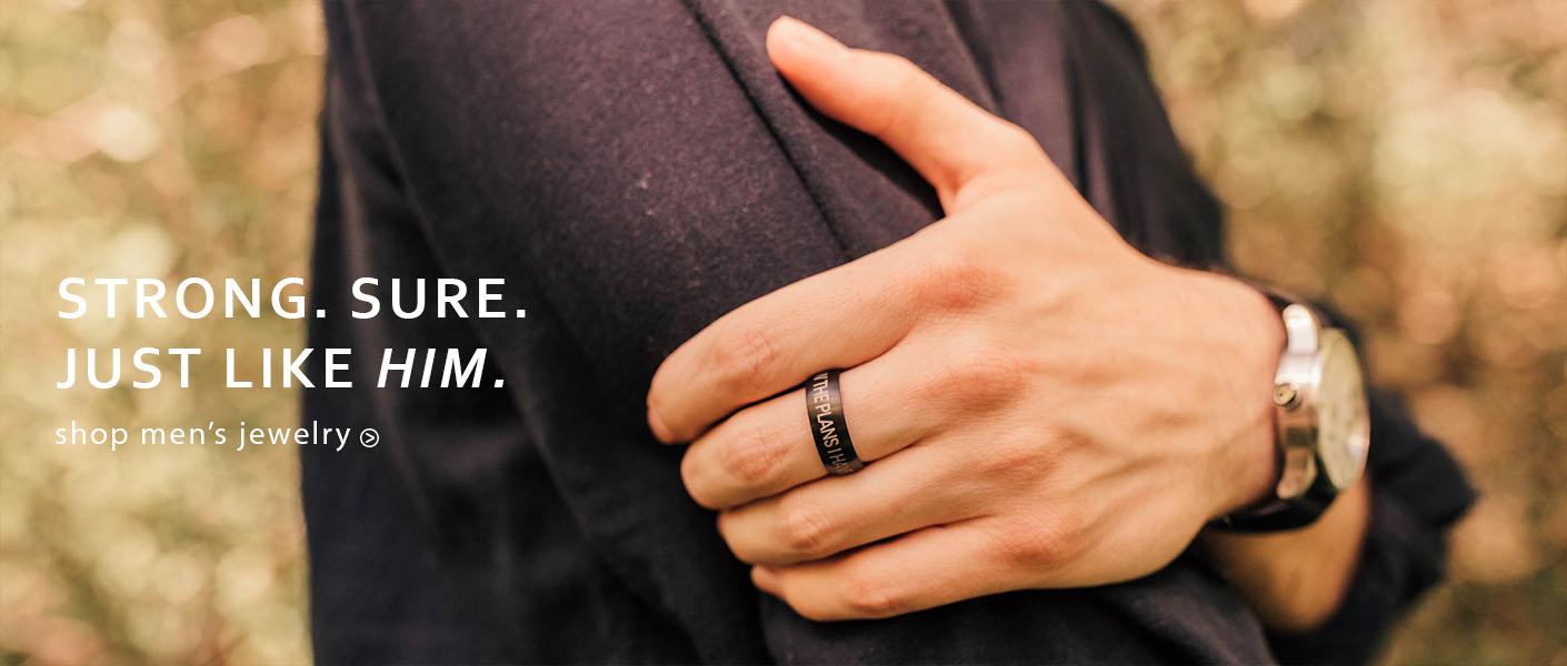 Men's Christian Jewelry
