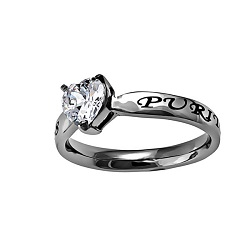Christ My Strength Solitaire Heart Ring christ my strength solitaire heart ring,christ my strength,heart ring,purity ring,purity rings,christian jewelry,christian jewlry,girls purity rings,womens purity ring