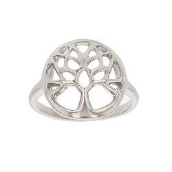 Tree of Life Ring bible ring, tree of life silver ring,