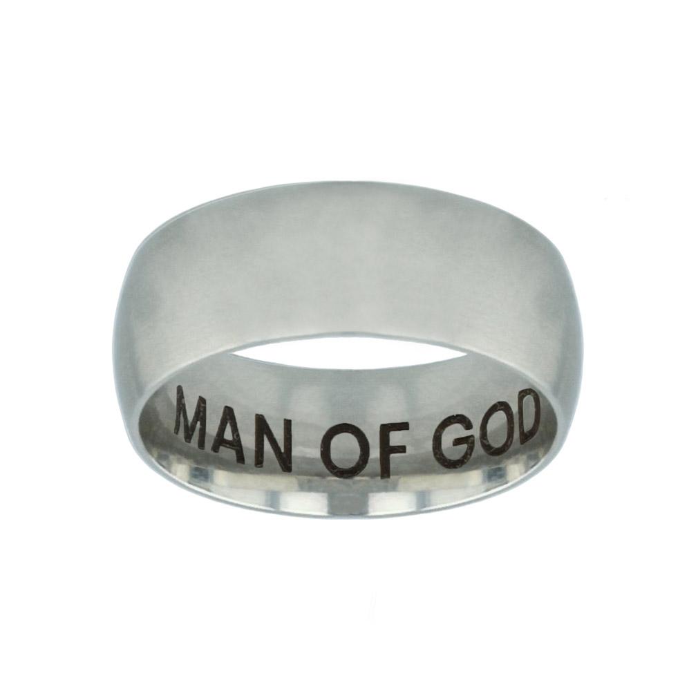 Man of God Hidden Verse Silver Domed Ring man of god hidden verse silver domed ring,christian jewelry