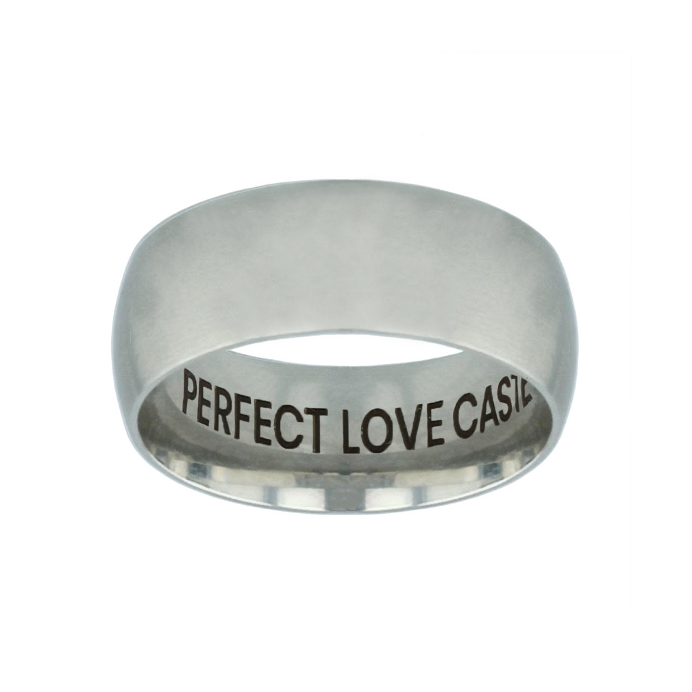 Perfect Love Casteth Out Fear Hidden Verse Silver Domed Ring perfect love casteth out fear hidden verse silver domed ring,perfect love casteth out fear,christian jewelry