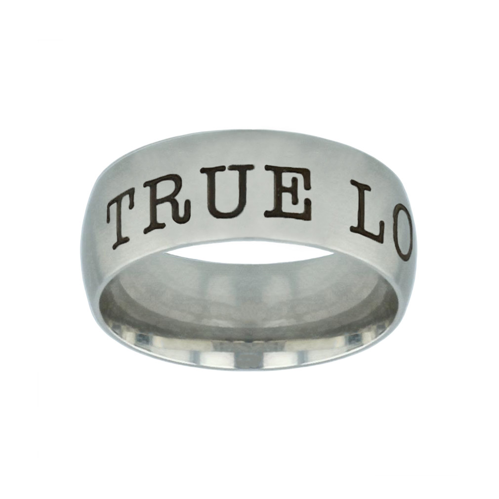 True Love Waits Silver Domed Ring true love waits silver domed ring,christian jewelry