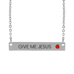 Give Me Jesus Birthstone Necklace give me jesus birthstone necklace,give me jesus,give me jesus necklace,jesus necklace,christian necklace,jesus christian necklace,christian jewelry,jesus jewelry