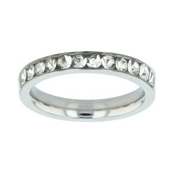 Princess Cut Purity Ring purity ring, narrow purity ring, silver purity ring, womens purity ring, girls purity ring