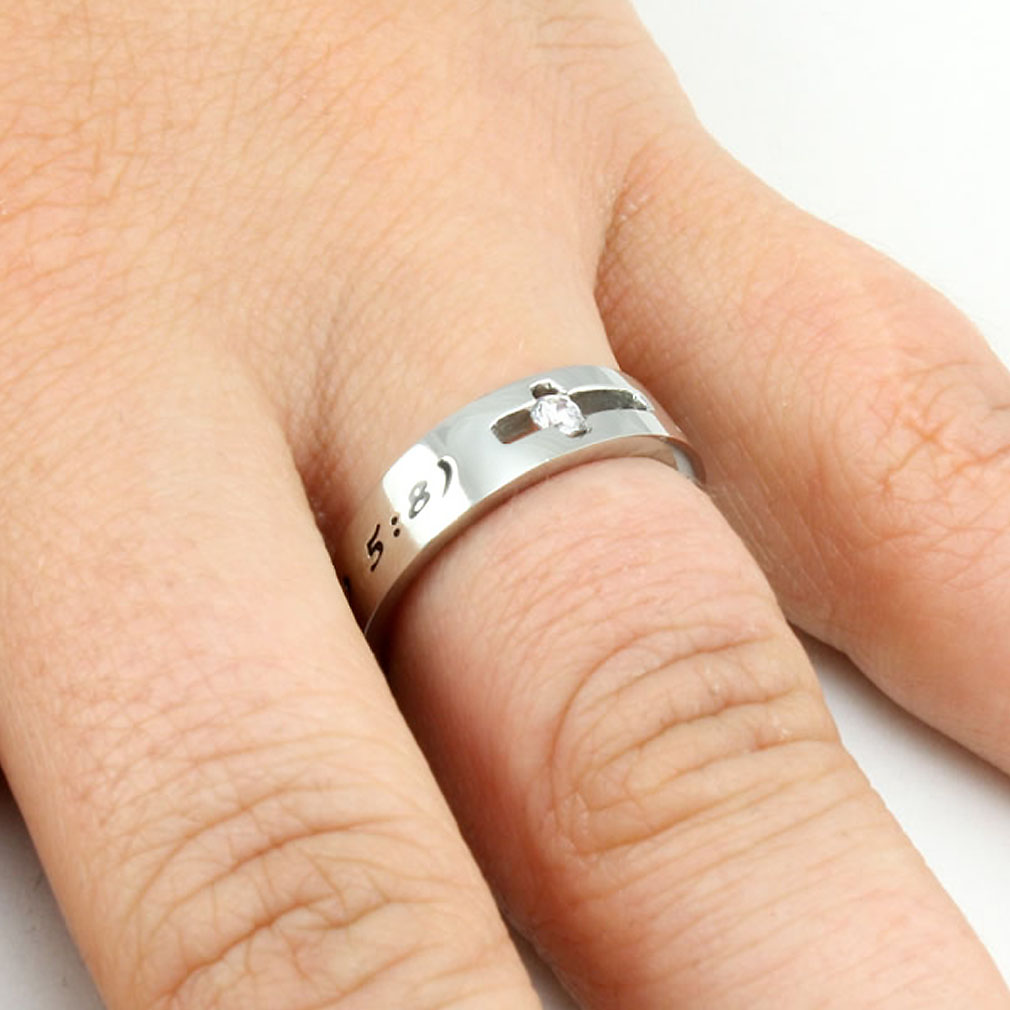 Purity Solitaire Ring - ST-SOL PURITY