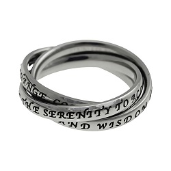Serenity Prayer Triple Band